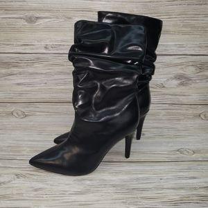 Jeffery Campbell Black Guillot Heeled Boots